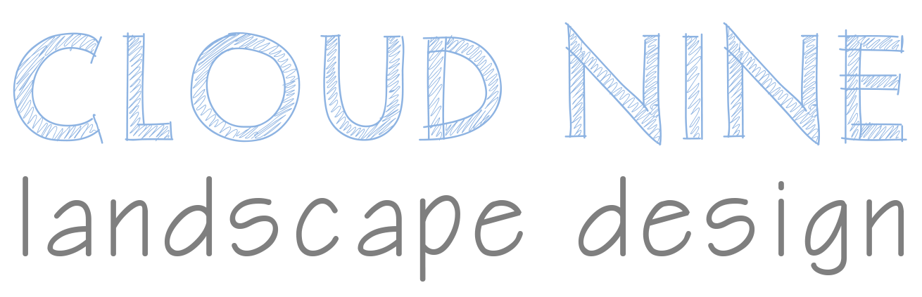 Cloud Nine Landscape Design Logo