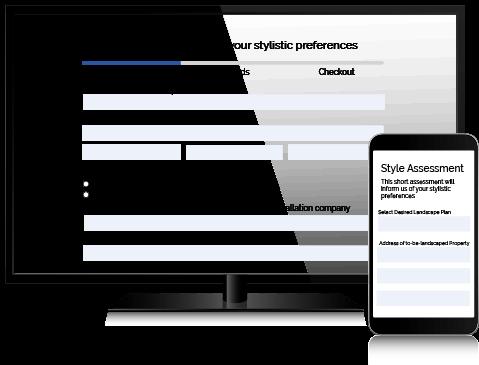 Online Landscape Design Style Assessment
